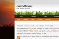 Joomla Bamboo release new theme for April