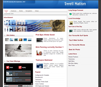 News portal theme from Joomla Bamboo