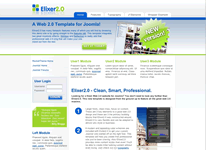 Web2.0 template from RocketTheme