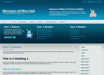 Gavick release second theme for Joomla
