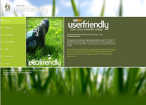 Left aligned user friendly theme