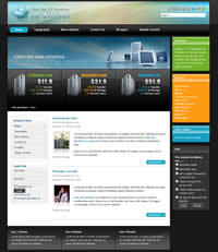 Joomla Theme from JoomlArt