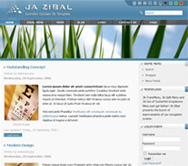 JoomlArt release Zibal for October