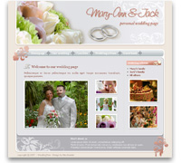 Wedding theme for Joomla