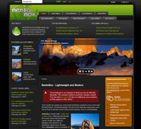 Joomla Themes Bento Box