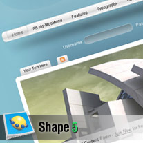 Business look theme from Shape 5